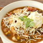Seven Can Tortilla Soup on SixSistersStuff