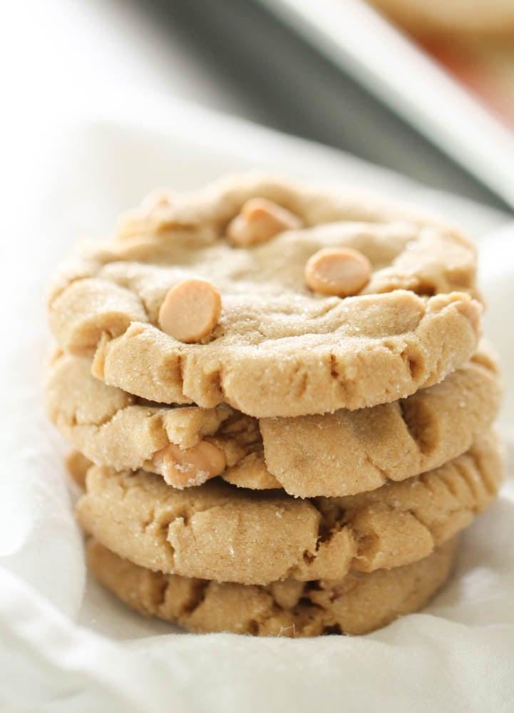 Copycat Disneyland Peanut Butter Cookies   Six Sisters