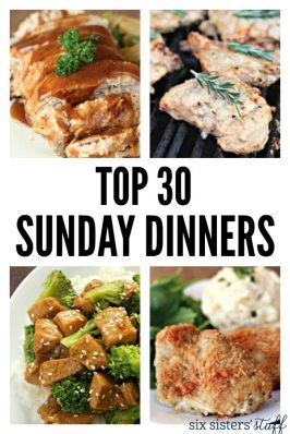 The Top 30 Sunday Dinner Recipes