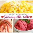 Weekly Menu Plan Feb 8-14 square