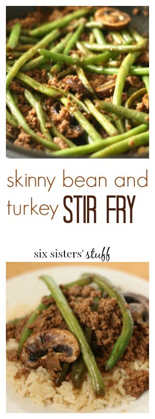 skinny Green Bean and Turkey pinterest