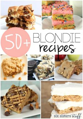 50+ Blondie Recipes