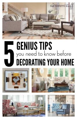 5 Genius Tips You Need To Know Before Decorating Your Home