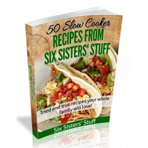 50 Slow Cooker Recipes EBook Product Image