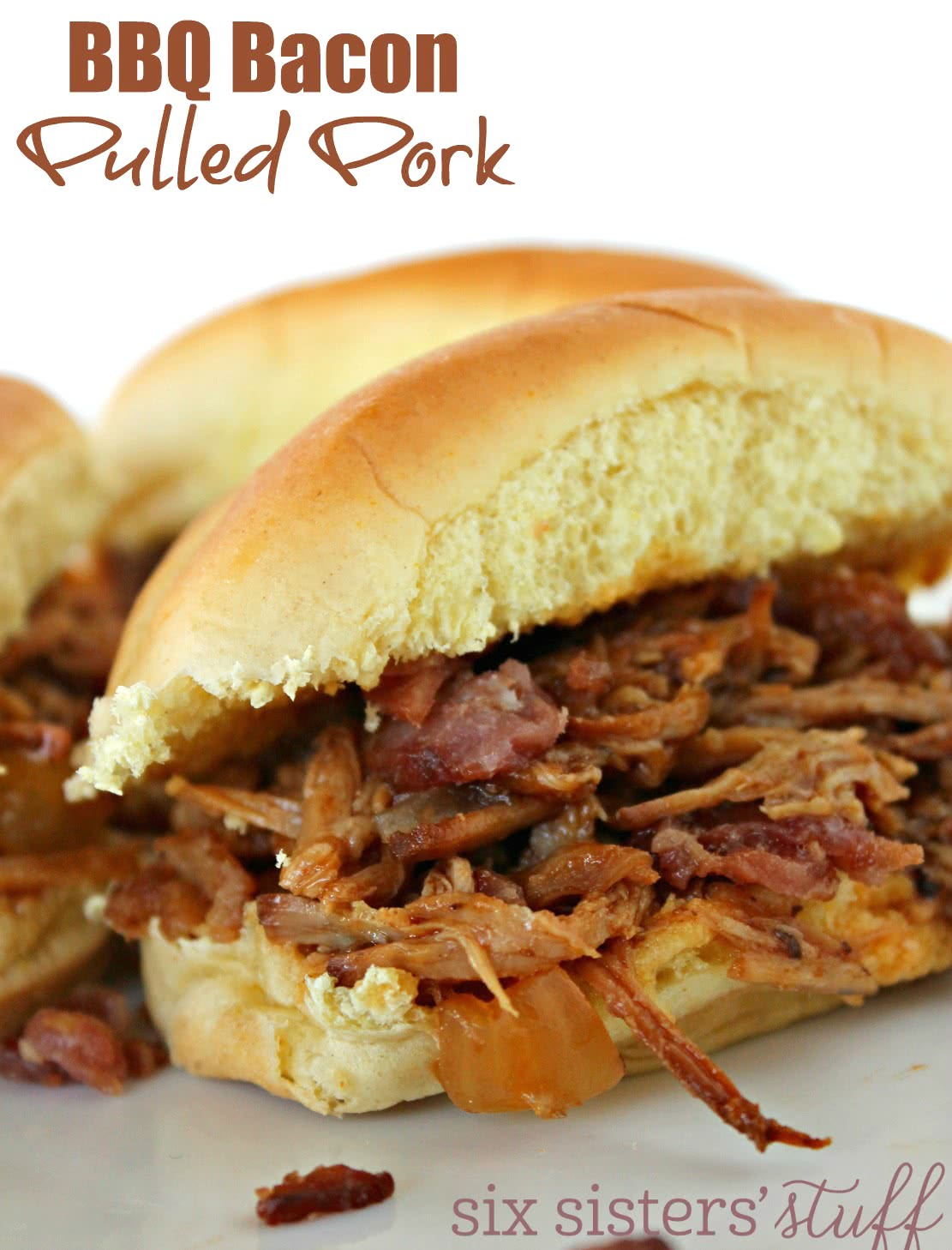 BBQ Bacon Pulled Pork