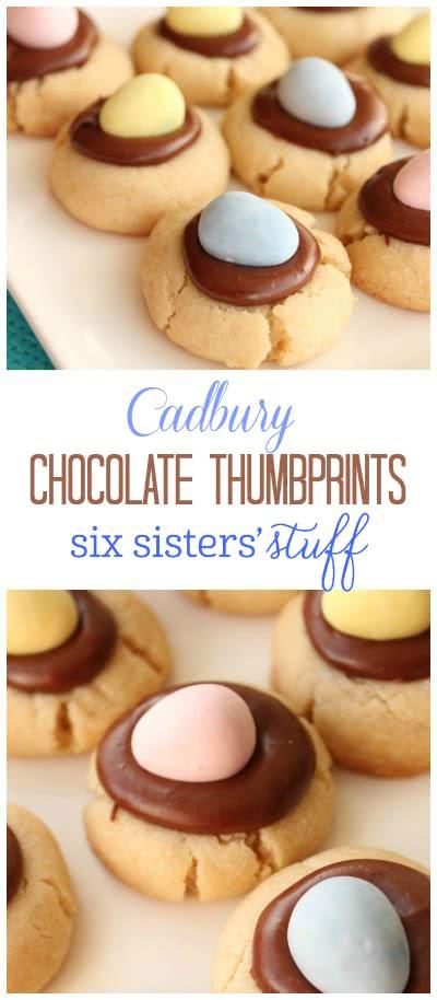 Chocolate Thumbprint Cookies 3