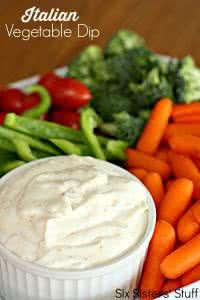 Creamy Italian Vegetable Dip