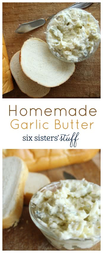 Garlic Butter Collage