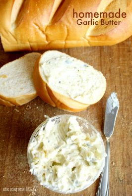 How to make garlic butter at home