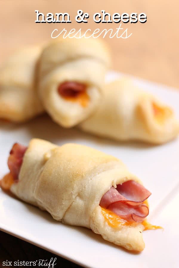 Ham & Cheese Crescents Recipe