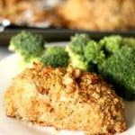 Italian Quinoa Crusted Chicken
