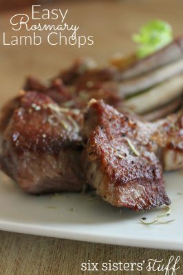 Easy Rosemary Lamb Chops