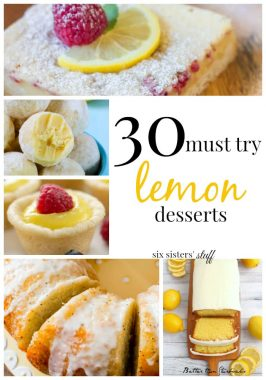 30 Must Try Lemon Recipes