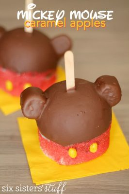 Mickey Mouse Caramel Apple Recipe