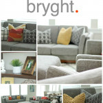 Modern Living Room with Bryght.com