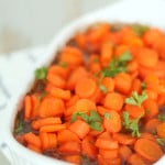 Orange Glazed Carrots from SixSistersStuff.com