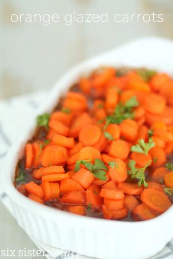 orange glazed carrots recipe