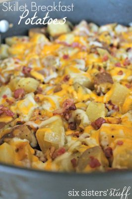 Easy Skillet Breakfast Potatoes Recipe