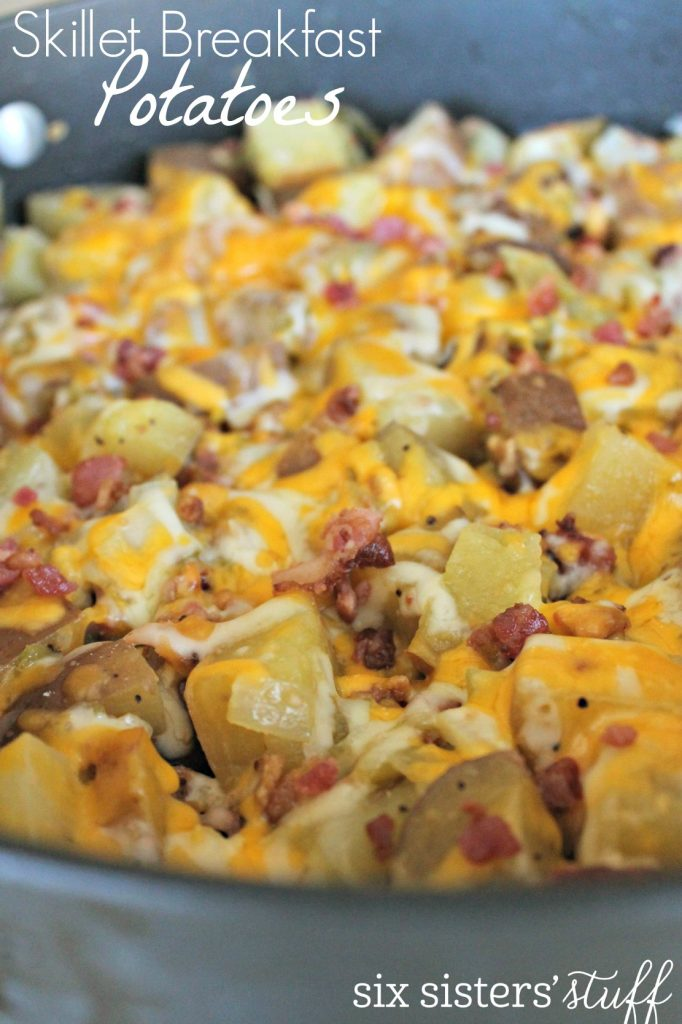Easy Skillet Breakfast Potatoes Six Sisters Stuff
