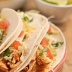 Slow Cooker Chipotle Chicken Tacos