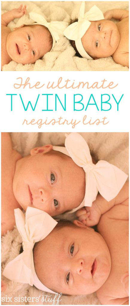 Ultimate Twin Baby Registry List