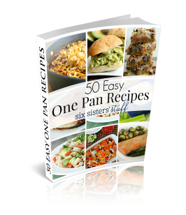 50 Easy One Pan Recipes eCookbook