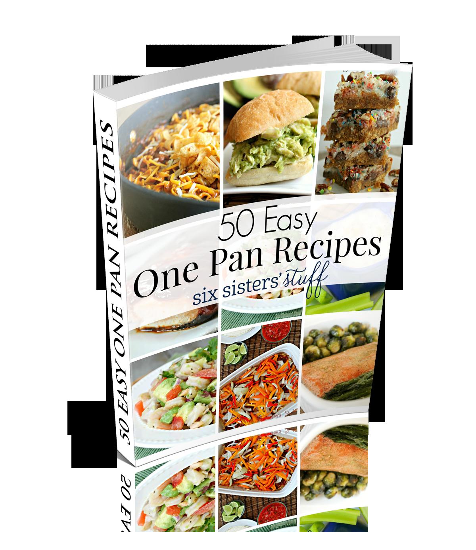 50 Easy One Pan Recipes eCookbook