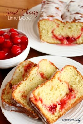 Sweet Cherry Lime Bread