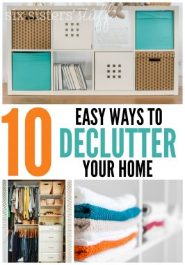 10 Easy Ways to Declutter Your Home