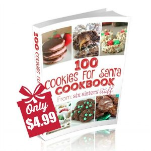 100 Cookies for Santa eCookbook cover photo