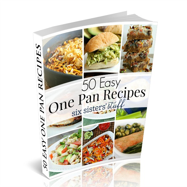 50 Easy One Pan Recipes Cover Photo