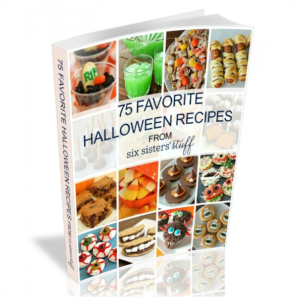 75 Halloween Recipes eCookbook Product Images