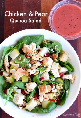 Chicken and Pear Quinoa Salad