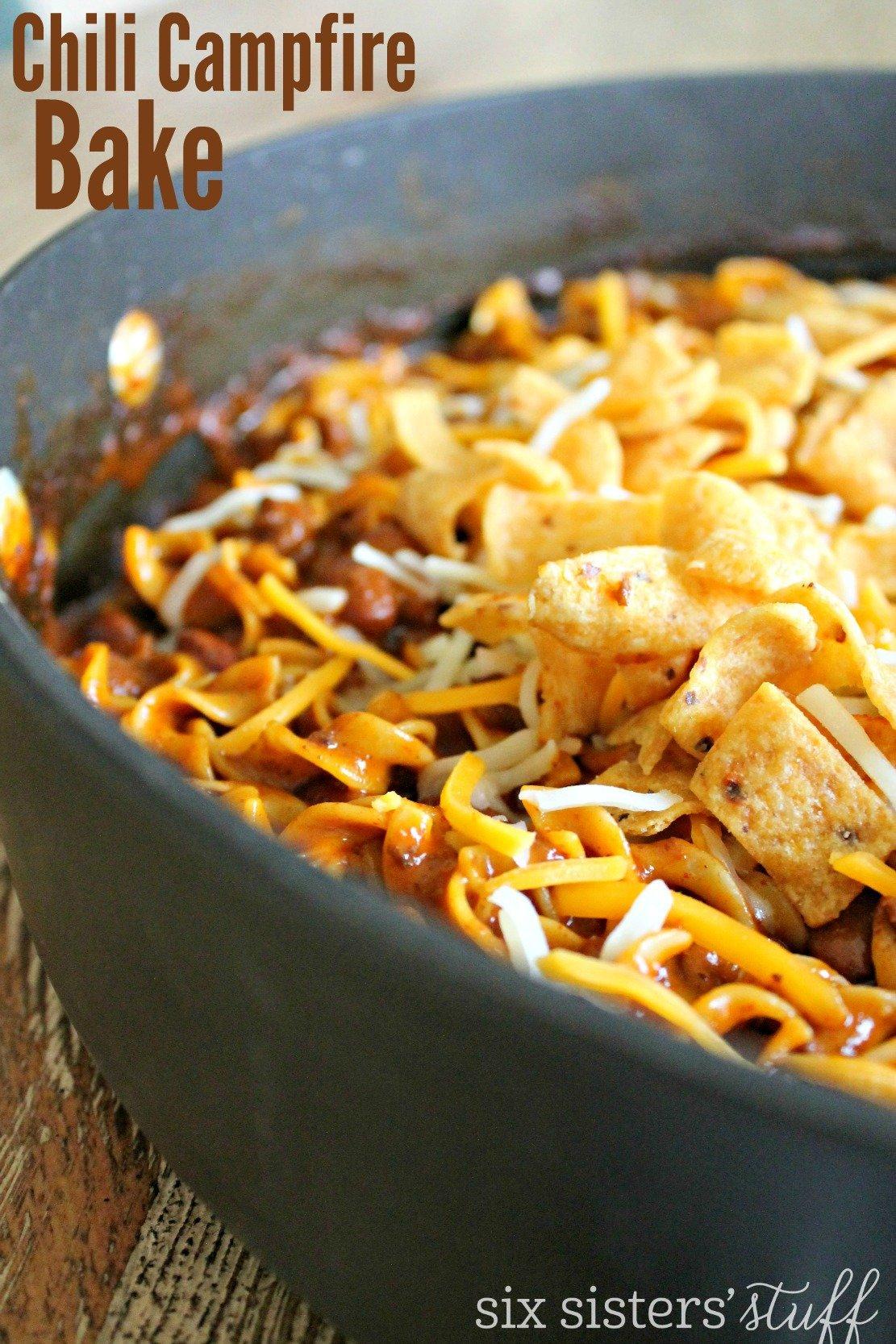 Chili Campfire Bake Recipe