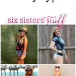 Cute and flattering swimsuits for EVERY body type!  SixSistersStuff.com