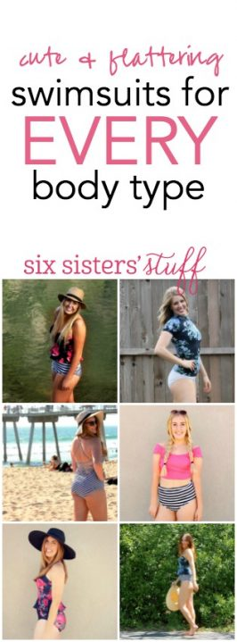 Six Sisters' Stuff and Albion Fit: Flattering Swimsuits for EVERY Body Type