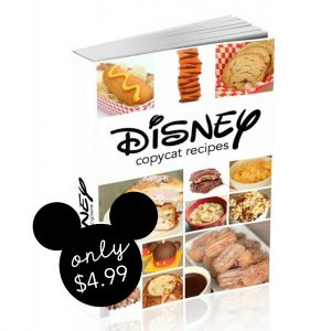 Disney Copycat Recipes Cover Photo