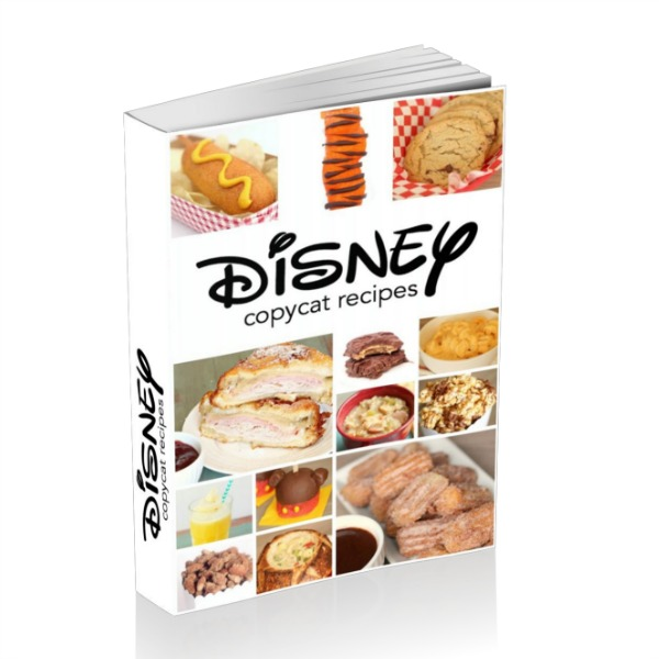 Disney Recipes eBook Cover Photo