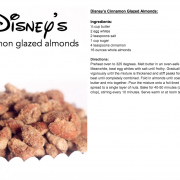 Disney's Cinnamon Glazed Almonds