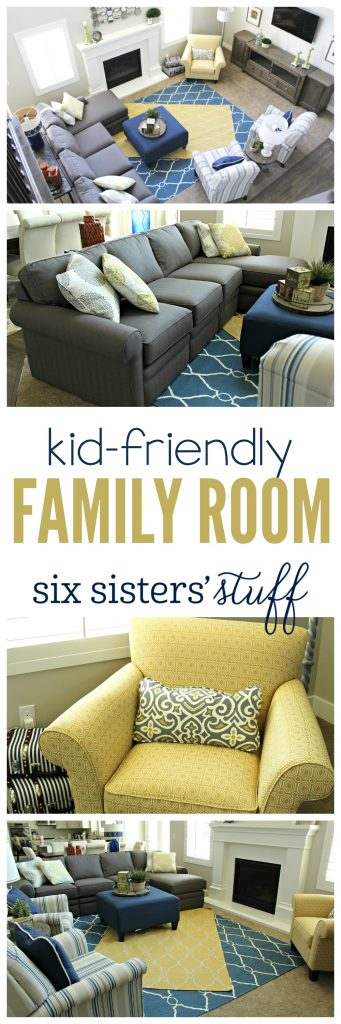 Family Room on SixSistersStuff