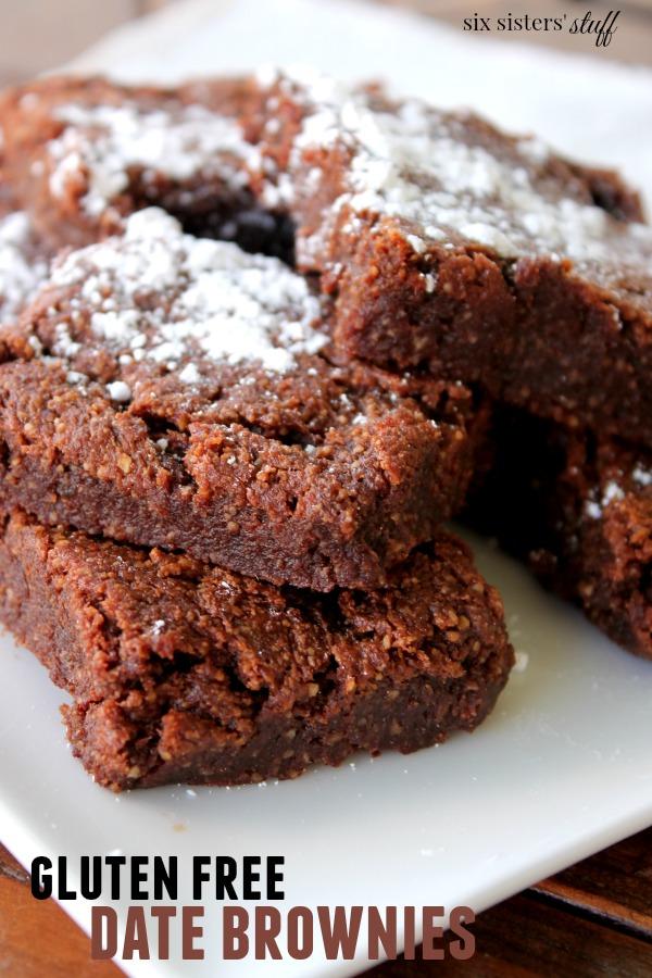 Gluten Free Date Brownies