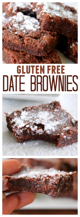 Gluten Free Date Brownies | Six Sisters' Stuff