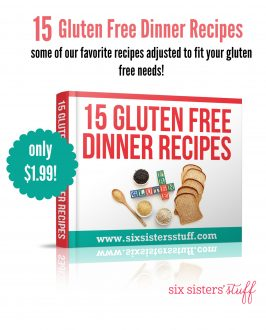 15 Gluten Free Dinners eBook