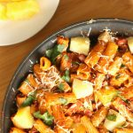 Hawaiian Pasta Skillet 600 by 900