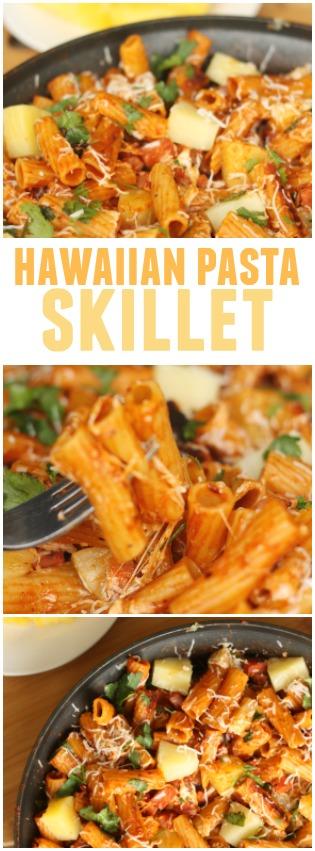 Hawaiian Pasta Skillet Pinterest