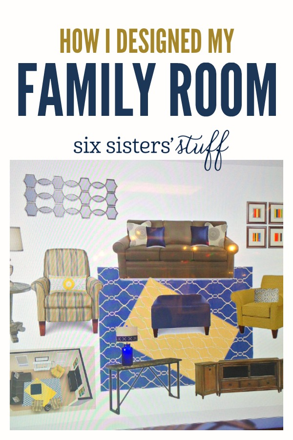 How I Designed My Family Room