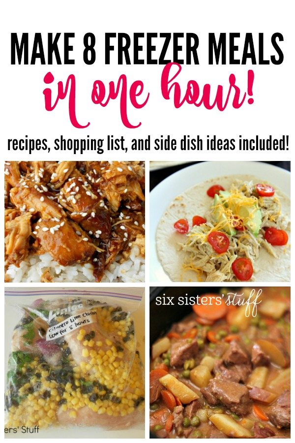 3 Freezer Meals from First Freezer Meal Post