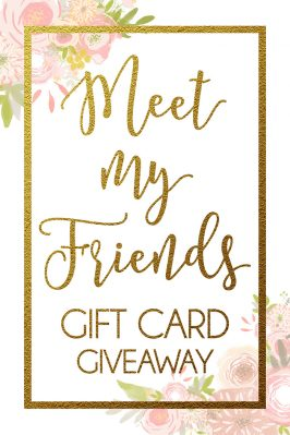 Meet My Friends $500 Gift Card GIVEAWAY