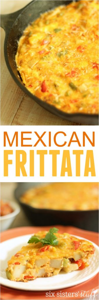 Mexican Frittata on Six Sisters' Stuff