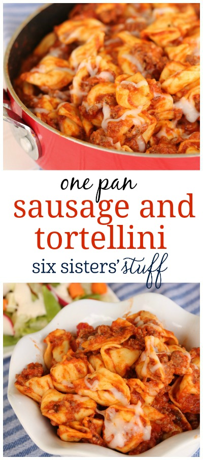 One Pan Sausage and Tortellini 3